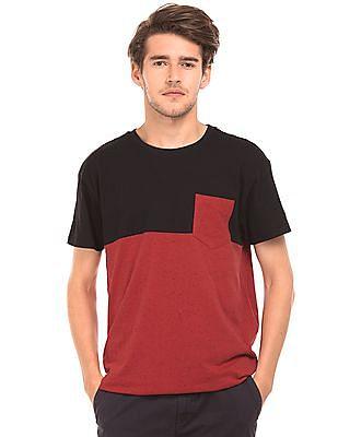 Aeropostale Regular Fit Colour Block T-Shirt