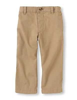 The Children's Place Boys Beige Chino Pants