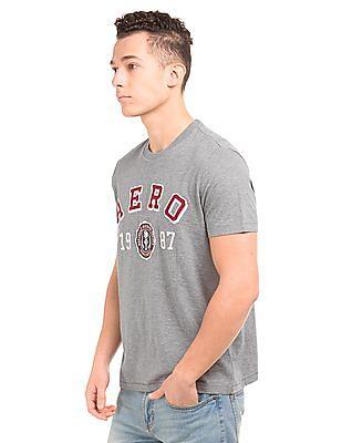Aeropostale Regular Fit Applique Front T-Shirt
