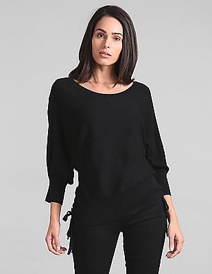 GAP Extended Sleeve Ribbed Sweater