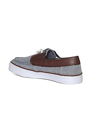 The Children's Place Boys Blue Slip-On Boat Shoe