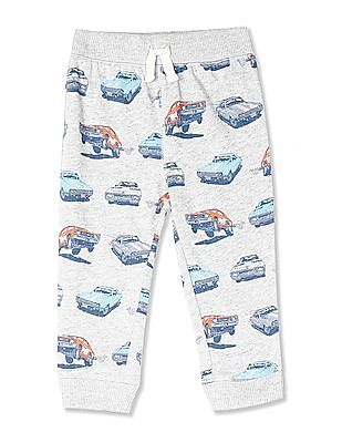The Children's Place Baby And Toddler Boy Active Printed Jogger Pants