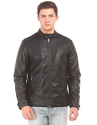 Aeropostale Faux Leather Biker Jacket