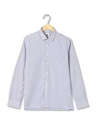 Excalibur Check Weave Cotton Shirt
