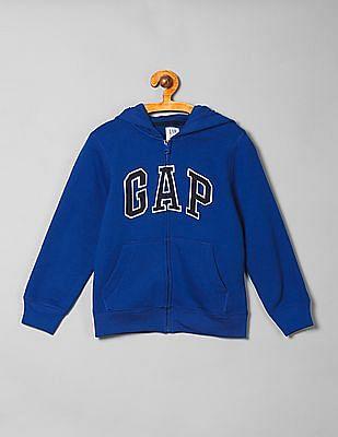 GAP Boys Appliqued Hoodie Sweatshirt