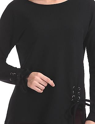 SUGR Round Neck Solid Top