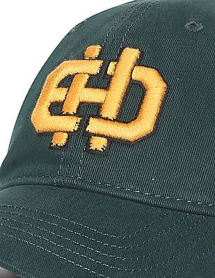 Ed Hardy Embroidered Logo Panelled Cap