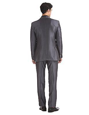 Arrow Slim Fit Striped Suit