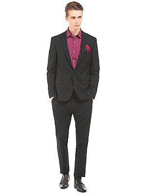 Arrow Newyork Peak Lapel Slim Fit Suit