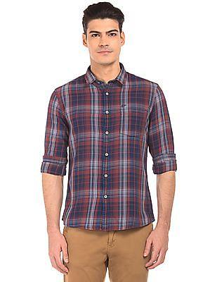 Ed Hardy Cotton Check Shirt