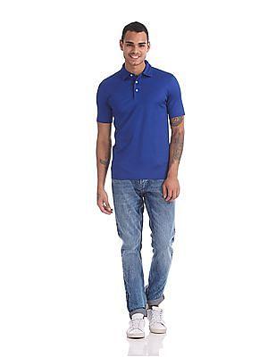 Gant Diamond American Cotton Jersey Short Sleeve Rugger Polo Shirt