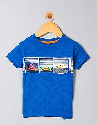 GAP Boys Blue Hot Wheels© Graphic T-Shirt