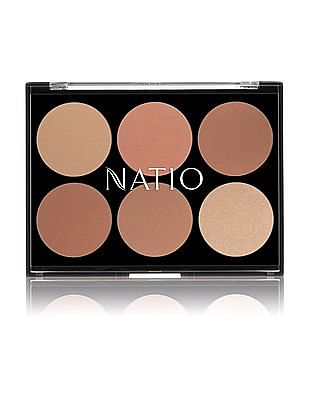 NATIO Glowing Bronzer Palette - Glowing Bronzer