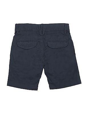 U.S. Polo Assn. Kids Boys Solid Cotton Twill Shorts