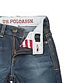 U.S. Polo Assn. Kids Boys Washed Slim Fit Jeans