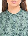 Arrow Woman Floral Print Modal Top