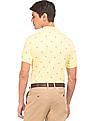 U.S. Polo Assn. Slim Fit Patterned Polo Shirt