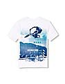 The Children's Place Boys Short Sleeve Extreme Biker Graphic Tee