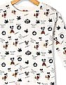 Colt Girls Long Sleeve Mickey And Minnie Mouse Print T-Shirt