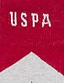 U.S. Polo Assn. Patterned Crew Length Socks - Pack Of 3