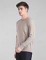 GAP Long Raglan Sleeve Patterned Knit Sweater