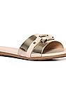 Stride Gold Forefoot Strap Open Toe Sandals