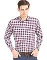 Arrow Sports Check Regular Fit Shirt