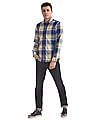 U.S. Polo Assn. Denim Co. Slim Fit Patterned Check Shirt