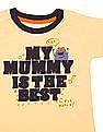 Donuts Boys Appliqued Cotton T-Shirt