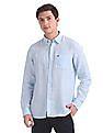 Arrow Sports Slim Fit Linen Shirt