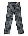 U.S. Polo Assn. Kids Boys Check Cotton Trousers