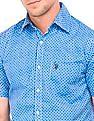 U.S. Polo Assn. Short Sleeve Geometric Print Shirt