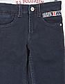 U.S. Polo Assn. Kids Boys Mid Rise Slim Fit Knitted Jeans