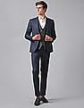 True Blue Single Breasted Three Piece Suit