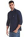 U.S. Polo Assn. Tailored Regular Fit Solid Shirt