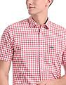 Arrow Sports Short Sleeve Gingham Shirt