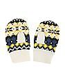 U.S. Polo Assn. Kids Boys Patterned Wool Mittens