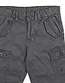 Cherokee Boys Solid Cargo Shorts