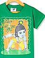 Day 2 Day Boys Short Sleeve Little Krishna Graphic T-Shirt