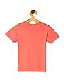 Cherokee Pink Boys Printed Cotton T-Shirt