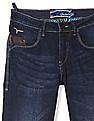 Flying Machine Blue Jackson Skinny Fit Low Rise Jeans