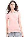 Aeropostale Solid Cotton Polo Shirt