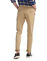 Roots by Ruggers Slim Fit Textured Trousers