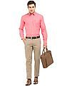 Arrow Sports Mid Rise Slim Fit Chinos