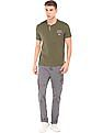 U.S. Polo Assn. Denim Co. Mid Rise Regular Fit Cargos