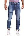 Cherokee Slim Fit Distressed Jeans