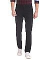 Ruggers Tapered Fit Patterned Trousers