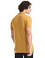 U.S. Polo Assn. Denim Co. Yellow Brand Print Polo Shirt