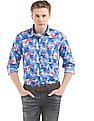 Izod Slim Fit Printed Shirt