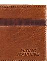 Flying Machine Contrast Panel Bi Fold Wallet